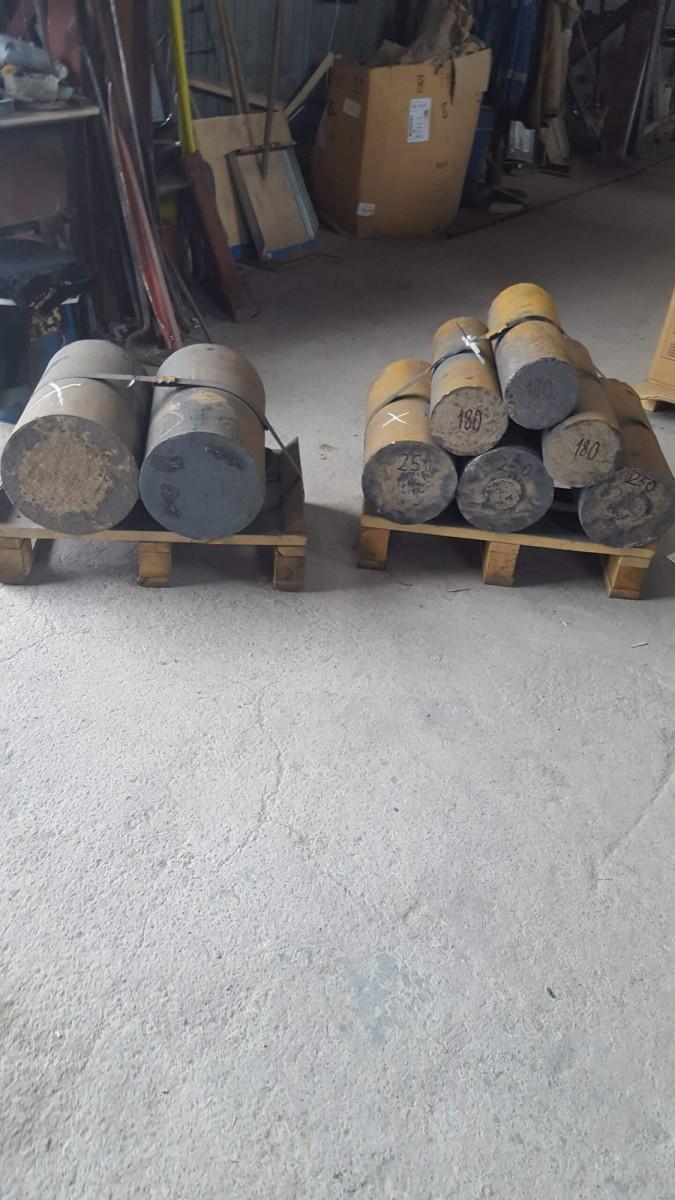 Круг 140х500 мм СЧ20 ГОСТ 1412-85
